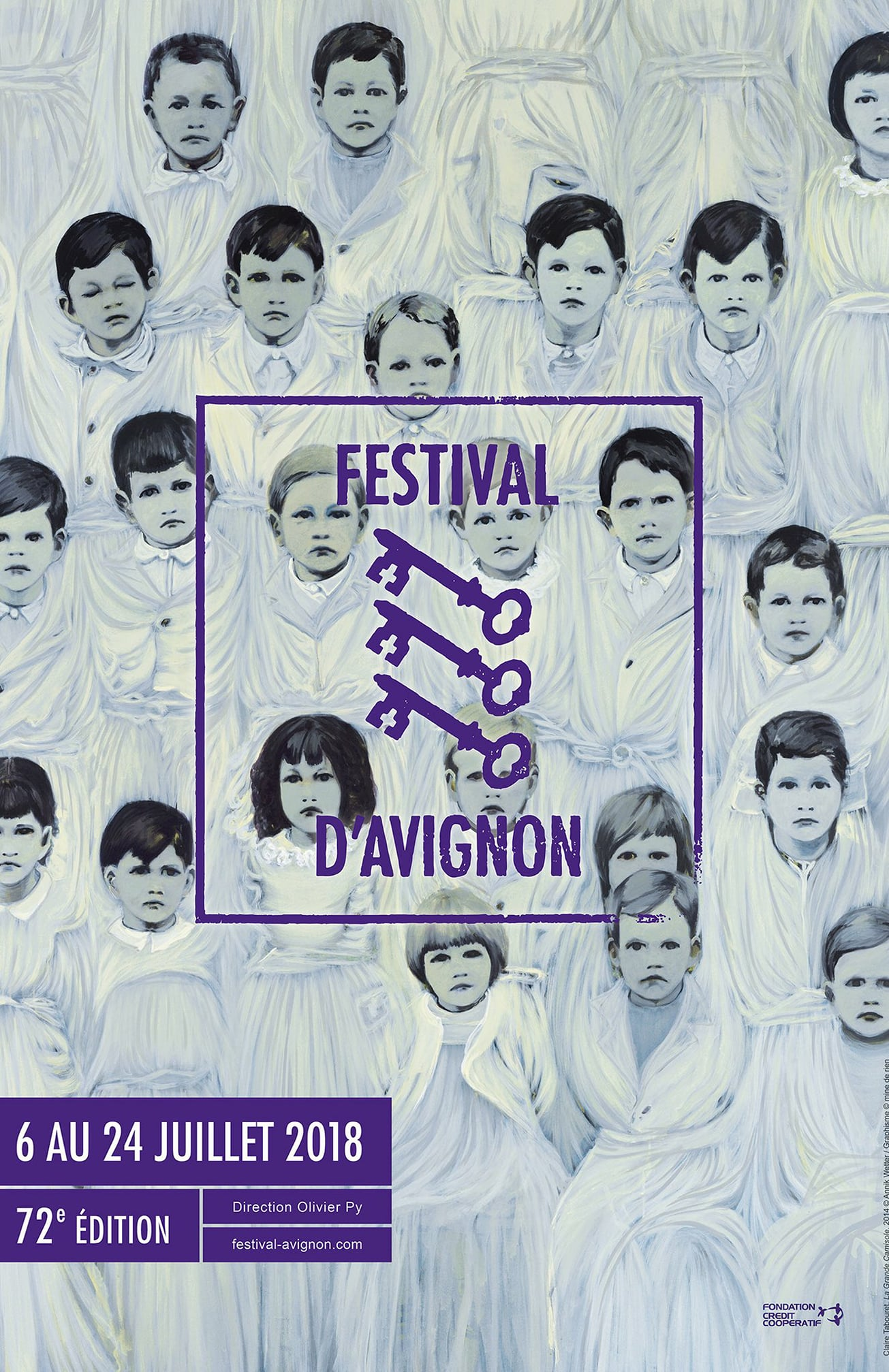 affiche festival avignon 2018