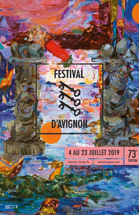 affiche festival avignon 2019